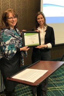 Special Recognition Award 2019 - Dr. Andria Eisman